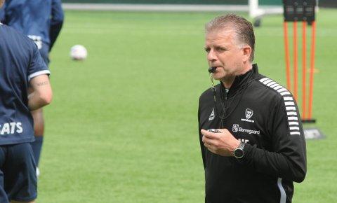 Magnus Edlund vil beholde den defensive tryggheten og benytte mulighetene til å sende flere folk i angrep mot Molde og Rosenborg. Arkivfoto: Pål A. Karlsen