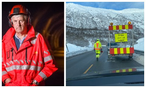 VENTING: Prosjektleiar Sveinung Hovland seier det blir to tre timar lange stengingar i samband med sprenginga i tunnelane.