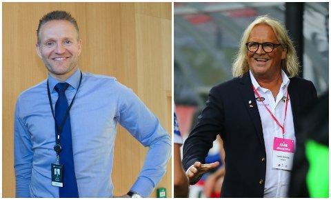 FRUKTBART EKTESKAP: Jan Ove Kjerpeseth og Sparebanken Vest held fram ekteskapet med Rasmus Mo og Sogndal Fotball.