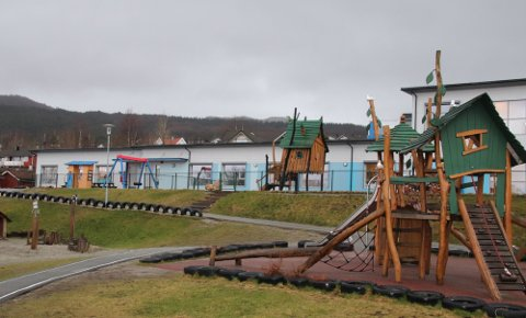 REDUSERER: Åpningstida i Bekkevegen barnehage og de andre barnehagene i Strand blir redusert fra 10,5 timer til 9,5 timer per dag. Arkivfoto