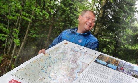 REDD FOR SMITTEFARE: Jon Atle Holmberg ønsker ikke å gi konkrete turtips, i frykt for at mange samles på samme sted.
