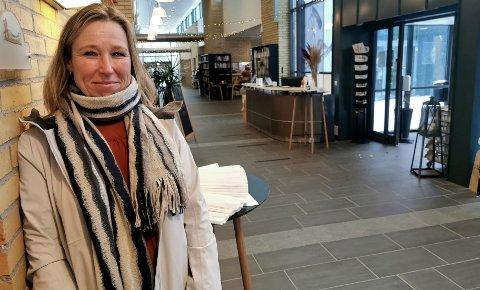 MANGE FRIVILLIGE:  Koordinator ved Menstad Frivilligsentral, Linda Åsulfsen (47) har 130 frivillige som står parate.