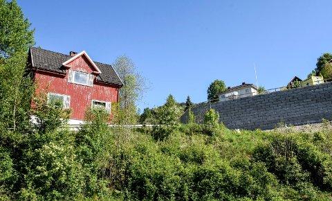 SOLGT: Det røde huset i Kleivane har endelig blitt solgt og gikk til prisantydningen, som ble kjent allerede i mai 2018.
