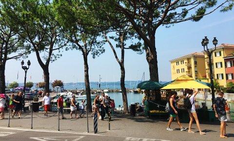 Sommerferien er i gang og mange skal til sydligere strøk. Bilde er fra Sirmione i Italia.