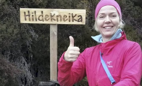 Sprek: Hilde Morch hadde 160 turer til Hysåsen i fjor.