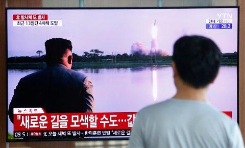 For fjerde gang på 12 dager har Nord-Korea testet kortdistanseraketter.