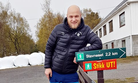 Håkon Dretvik er klar til å ta alle Stikk Ut-turene på Averøya søndag.