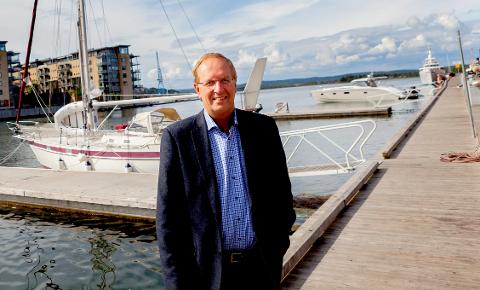 JUBEL: Tønsberg, med ordfører Petter Berg i spissen, er en god kommune for næringslivet. Plasseringen er ikke like god når det kommer til helse og omsorg.