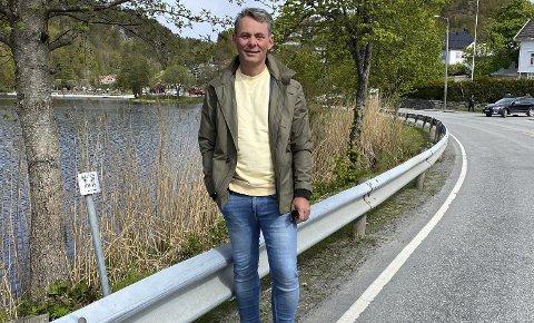 Rektor Oddvar Haslemo: Synes enhetsleder Elisabet Christiansen har fått ufortjent mye pepper. Foto: Olav Loftesnes