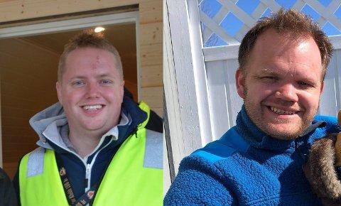 LASTEBILSERVICE: 1. oktober åpner Valdres Lastebilservice garasjedørene på Kalplassen, med Kai Morten Granli og Ole Thomas Bergum i alle rollene.