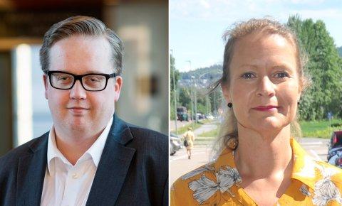 BRUTTDIALOG:Ida Eliseussen (SP) er blant de gruppelederne som takker nei til invitasjonen fra fungerende varaordfører Helge Fossum (Frp).