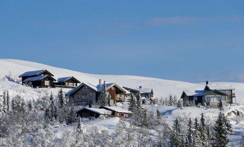 BLIR DYRERE: Prisene for fritidsboliger på fjellet steg for tredje år på rad i 2017. Størst vekst finner du i hytter nær alpinanlegg. Bildet viser fritidsboliger i Eggedalsfjellet på vestsiden av Norefjell.