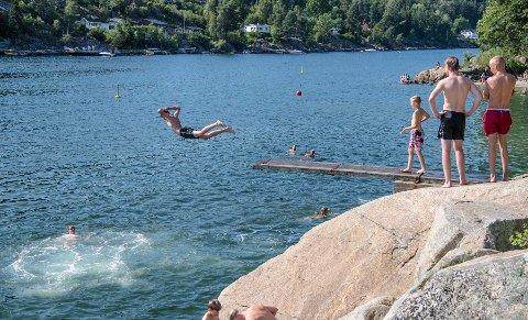 GOD KVALITET: Badevannet i Ås holder fortsatt god kvalitet.