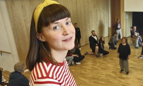 Tina Fløystad: Skifter beite. Foto: Arkiv.