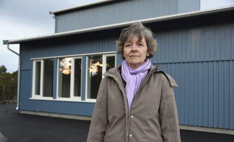Tomt: Finneid skole ble bygget ut for 20 millioner kroner for å huse elever fra Erikstad og Hauan. Nå står 400 kvadratmeter ledig. Det synes Hilde Dybwad (Ap) er trasig.