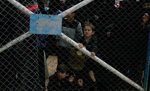 Rundt 73.000 kvinner og barn bor i interneringsleiren al-Hawl i Syria.