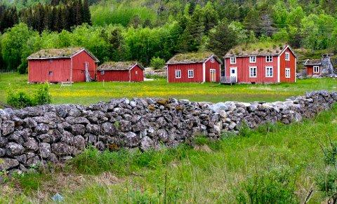 Gården: Rørvik gård lå tidligere i Tysfjord, men ble fra 1. januar 2020 en del av Hamarøy kommune i likhet med resten av Tysfjords vestside.