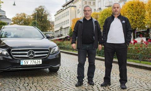 Sardar Garni og Serkan Sirin er forbannet på den nye reformen.