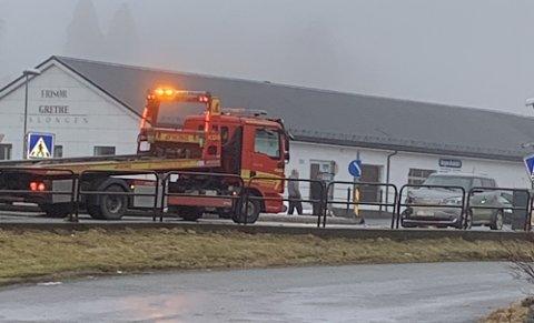 Det var her i Hardangervegen at 24-åringen svingte til venstre uten å overholde vikeplikten overfor en personbil som kom kjørende på hans høyre side.