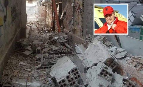 Jordskjelv: Ove Johan Harestad har levert 13 ambulanser til Albania. Flere av dem har kommet til stor nytte, særlig etter jordskjelvet forrige uke.
