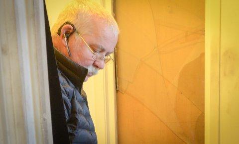 Fortvilet: Ole Johannes Sørbø sin bærbare kontor-pc ble stjålet natt til mandag.