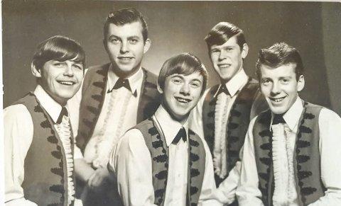Musikalske gutter: The Parrot's besto av Audun Berg (f.v.), Bård Sverre Fossen, Knut Olav Haugen, Arne Vidar Fragåt og Roar Grønland