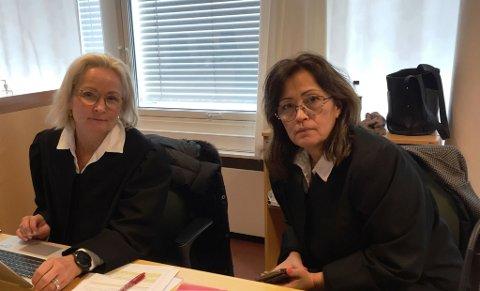 Advokatene Sol Elden og Sidsel Katralen forsvarer 57-åringen.