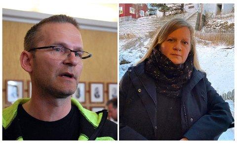 Fredrik Helgesen og Aina Pettersen er de som leder og koordinere arbeidet innad i HT&IF.