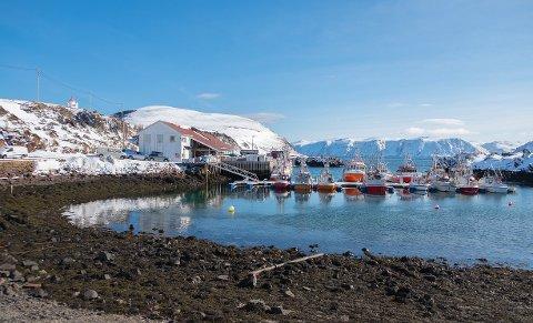 Nå ser det ut at finværet kommer og temperaturen vil stige. Bildet er fra Kamøyvær.