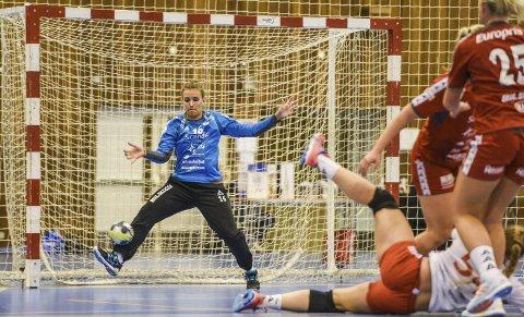 Jenny Sandgren spilte en storkamp mot Storhamar, hvor FBK rystet storfavorittene.