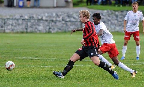 Anas Farah Ali og FFK 2 tapte mot Tistedalen mandag kveld.