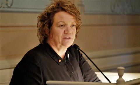 - MÅ TA ETISK ANSVAR: Camilla Eidsvold og SV mener kommunen må ta et etisk ansvar og legge press på Israel ved boikott. Nå vil hun ha bystyret med seg på dette.