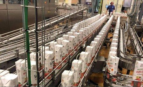 Nen produkter tapper juice og fruktdrikker for et skandinavisk marked. Og i fjor startet bedriften opp med tapping av rødvin på kartong for Arcus.