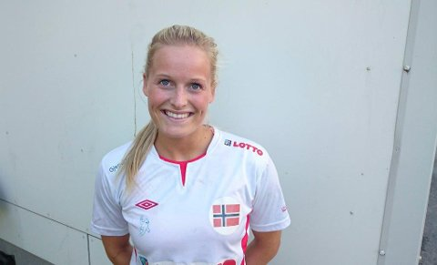 GLEDER SEG: Marit Røsberg Jacobsen gleder seg til sitt fjerde internasjonale mesterskap. Narvikingen har aldri vært bedre.