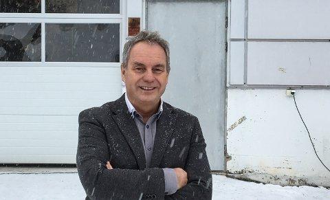 FORNØYD: Administrerende direktør i Sterner AS, Bjarne E. Pettersen, har all grunn til å smile etter at selskapet fikk den gullkantede kontrakten i India.