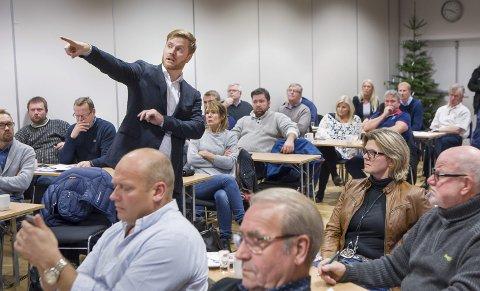 Informasjon: Administrerende direktør for kategori og innkjøp, Lars Kristian Lindberg, vil ha med seg bøndene i Solør til mer økologisk landbruk.