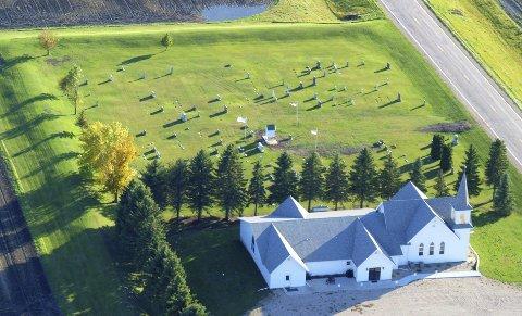 KONGSVINGER CHURCH: Her er vår «søsterkirke» i Minnesota. Den ble bygget av norske og svenske innvandrere fra Finnskogtraktene i 1880-årene.
