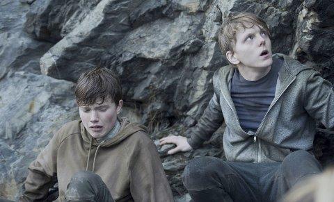 STERKT: «22. july» er Netflixfilmen med spillefilmlengde som blir sett verden rundt. Jonas Strand Gravli (til høyre), har en av hovedrollene.foto: erik åvatsmark/ap
