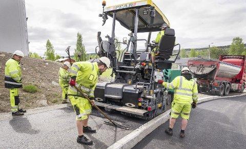 Nord-Odal: I sommer vil det bli veiarbeid med asfaltering på Sand og i Knapper.