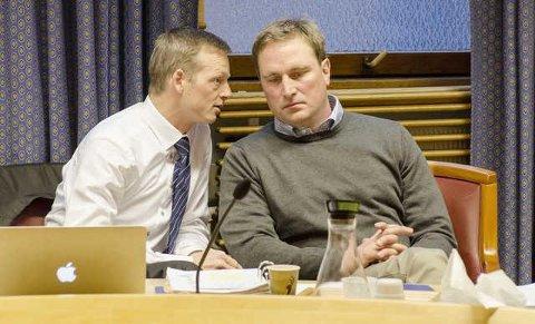 FRI: Dersom tingretten ikke gir forlenget forvaring og prøvetid for Kjell Alrich Schumann, er han en fri mann 6. september. Her med sin forsvarer Fredrik Brodwall, som ber om frifinnelse.