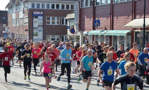 FRA GRAN: Det nærmer seg årets Viggaløp. Her fra rekordåret 2014 hvor det deltok 1452 personer.