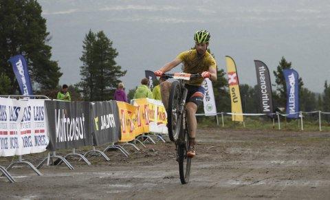 BEST: Eskil Evensen-Lie fra Kloppa Offroadklubb gikk til topps i Rørosrittet og i norgescupen sammenlagt.