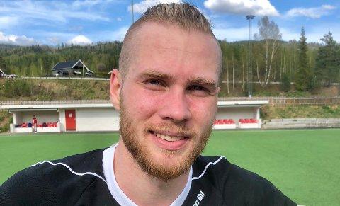 SCORET: Ole Petter Berget scoret for Gran mot Reinsvoll.