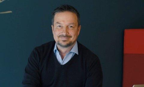 GRÜNDER: Rich Larsen er glad for å ha Ketil Solvik-Olsen i styret.
