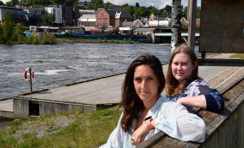 FORTVILENDE: - Det har vært kjempefortvilende, sier Wenche Malene Bjerke. Karina Jenshagen er tillitsvalgt på arbeidsplassen deres.