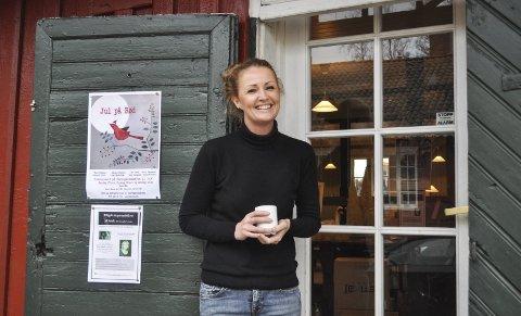 Min «baby»: I mai var det ti år siden Ann-Cathrin Vanay overtok Herregårdskafeen på Rød. Men feiringen blir neppe før i 2017. alle foto: øivind kvitnes