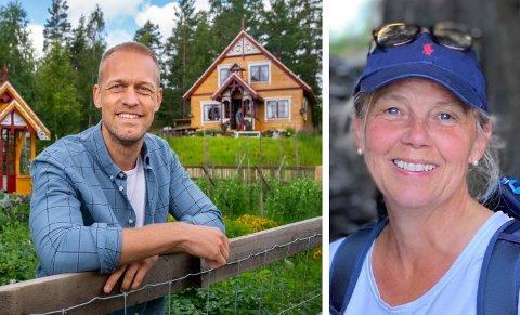 LÅNTE BORT GÅRDEN: Pernille Grønlund og familien eier Nedre Finneplassen hvor Mads Hansen og Strix har laget «Farmen» for TV 2.