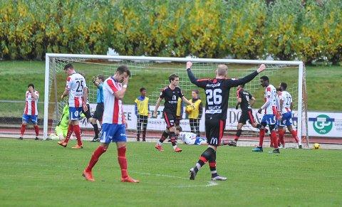 FFK jubler, mens Øystein Lundblad Næsheim og Kvik fortviler.