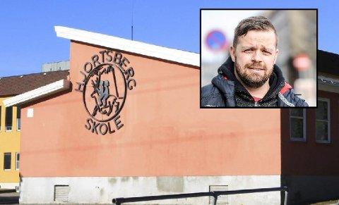 SAMME PROBLEM: Kontaktlærer Kent Hansen kan fortelle at de også på Hjortberg har slitt med samme problemer som Låby skole.