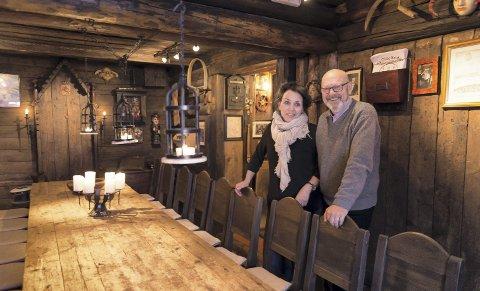 GAMMELT: Puben gir en følelse av en gammel gildehall.